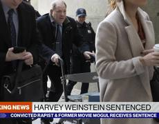 Harvey Weinstein sentenced to 23 years on sex crime convictions