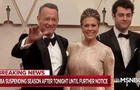 Tom Hanks, Rita Wilson han dado positivo a prueba de coronavirus