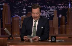 Jimmy Performs Tonight Show Monologue for Empty Audience