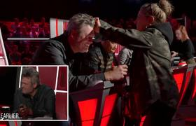 Nick Jonas' Full Name, Blake's Chicken Hair and More - The Voice Blind Auditions 2020 Outtakes