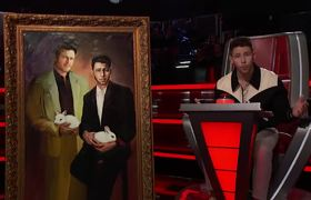 Win a Nick Jonas and Blake Shelton Bunny Painting; Plus, Meet Nick Jonas in LA! - The Voice 2020