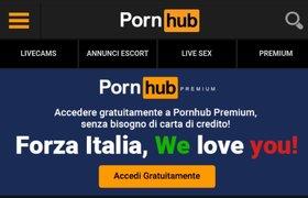 Pornhub Gives Premium Accounts to Italians to Avoid Leaving Home During Coronavirus Contingency