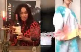 Vanessa Hudgens Makes Her Tik Tok Debut With Ashley Tisdale & Performs