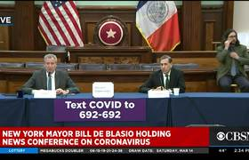 Bill De Blasio: New Yorkers should be