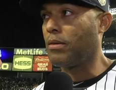 Rivera Emotional After Final Outing
