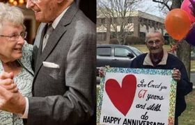 This Connecticut Couple Was Separated Because of #Coronavirus, But Still Celebrated Their Anniversary