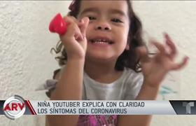 Puerto Rican girl captivates everyone with her explanation of the covid19