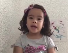#VIRAL: Girl explains what the coronavirus is