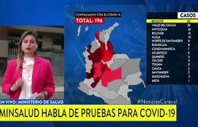 Coronavirus: The number of infected in Colombia increases