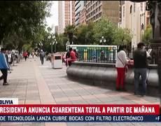 Coronavirus: total quarantine in Bolivia