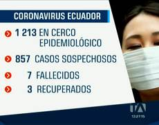 In Ecuador the number of infected by the coronavirus increases