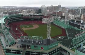 Drone footage captures Boston emptied by #coronavirus