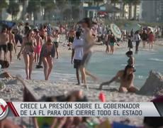 Coronavirus: Piden al gobernador cerrar el estado de Florida