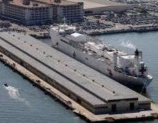 Covid19: Navy Ship Arrives in California to Treat Sick