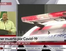 1st deceased in Jalisco from the coronavirus