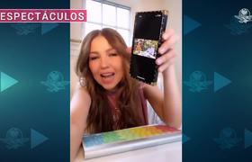 Thalía lanza critica a AMLO por no respetar medidas contra el covid19