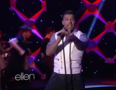 The Ellen Ricky Martin Performs Come with Me 2692013