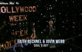 WOW! Faith Becnel and Jovin Webb Bring the Sauce to Hollywood Duets Round - American Idol 2020