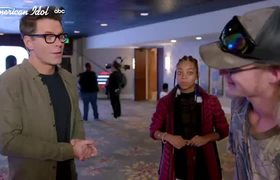 Two Worlds Collide During Courtney Timmons' and Zack Dobbins' Duet - American Idol 2020