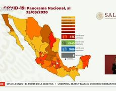 6 deaths from coronavirus in Mexico and 475 confirmed cases