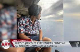 Children of Chavista officials create outrage at party in crisis