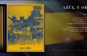Trueno - Azul y Oro (Lyric Video)