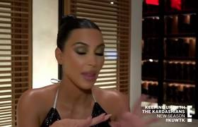 Kourtney Kardashian Cries After Fight With Kim Kardashian