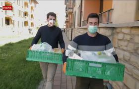 #Coronavirus: En Bergamo el sonido de las sirenas no cesan