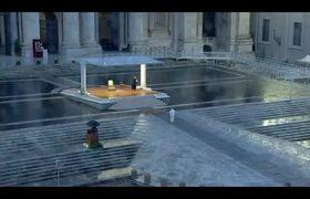 Bendicion Urbi et Orbi impartida por el Papa Francisco para hacer frente al coronavirus