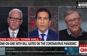 Bill Gates makes a prediction about when #coronavirus cases will peak