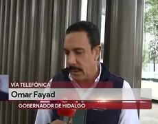 Omar Fayad da positivo a Covid-19
