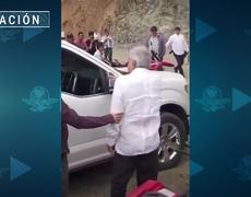 #AMLO saluda a mamá de El Chapo Guzmán en su visita a Badiraguato
