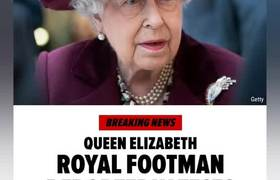 BREAKING NEWS - QUEEN ELIZABETH ROYAL FOOTMAN REPORTEDLY TESTED POSITIVE FOR CORONA VIRUS