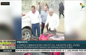 México: responde #AMLO a críticas por saludo a madre de