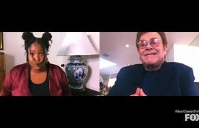 Lizzo & Elton John Hope For Unity & Love | THE iHEART LIVING ROOM CONCERT FOR AMERICA