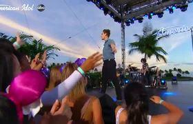 Nick Merico Performs Bruno Mars Hit During Hawaii Top 40 Showcase - American Idol 2020