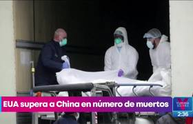 The United States exceeds China in the number of deaths from Covid-19