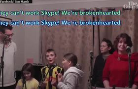 Family's lockdown adaptation of Les Misérables song goes #viral