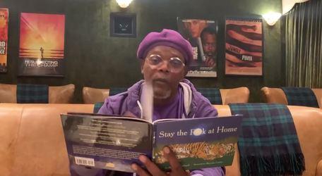 JKL; Samuel L. Jackson Says Stay the F**k at Home