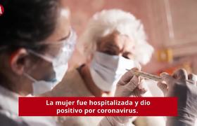 90-year-old woman dies with coronavirus after giving respirator to young patients