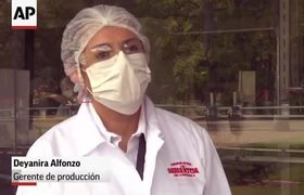 Most important distillery in Venezuela fights against COVID-19