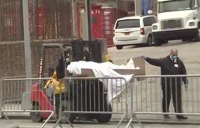 Mueven cadaveres victimas de coronavirus en camiones (NY)