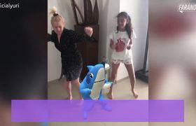 Yuri entretiene a sus fans bailando la canción del coronavirus