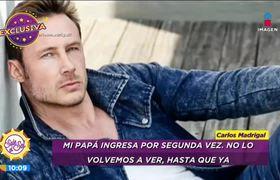 Carlos Madrigal perdió a su padre debido a COVID-19