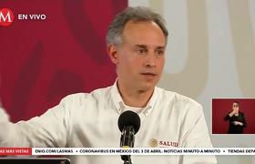 Cubrebocas no evitan propagación de covid-19, son auxiliares: Hugo López-Gatell