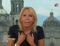Laura Bozzo le responde a Carmen Aristegui la llama mentirosa Video Completo