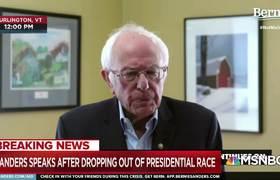 Bernie Sanders Announces The Suspension Of His Presidential Campaign