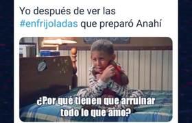 Memes Enfrijoladas De Anahi! Los Memes Mas Graciosos Por Las Enfrijoladas De Anahi!