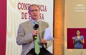 Preguntan niños a Hugo López-Gatell