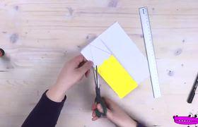 Tarjeta para maestra fácil y bonita